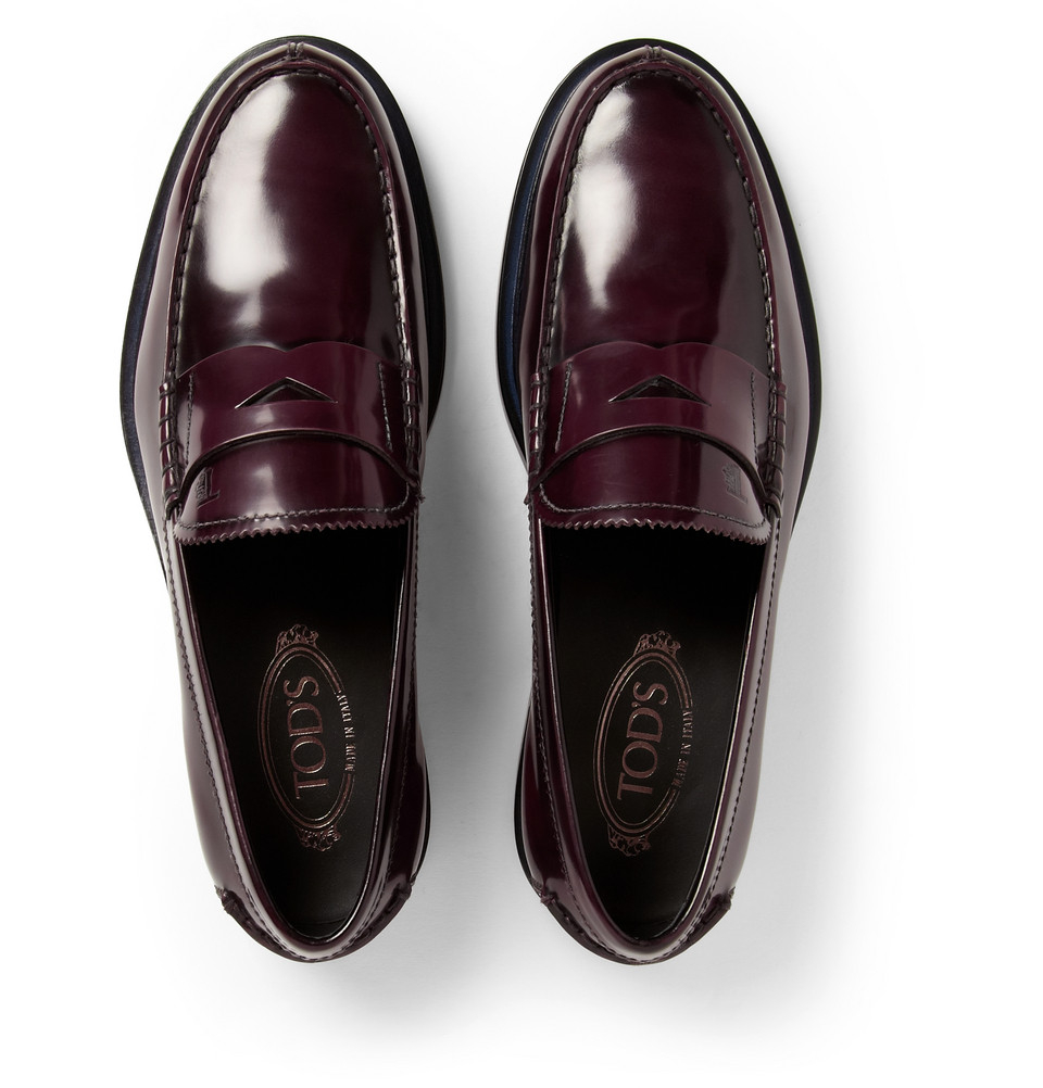 Tod'sLeather Penny Loafers YmPMr435DL