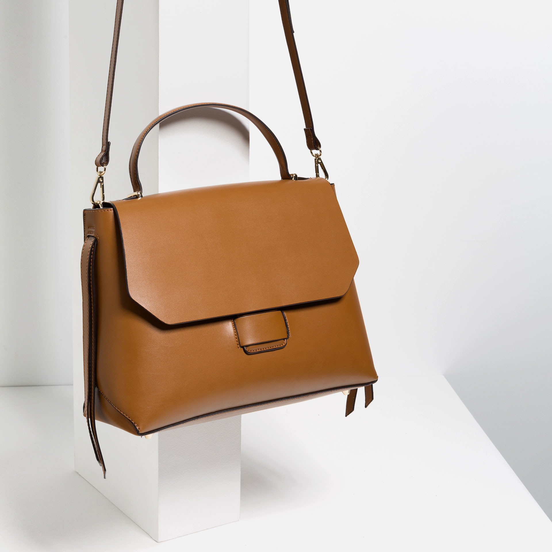 Mini leather tote bag zara - Excellent 13 Off Zara Handbags Zara Women Bucket Bag From Doris39s Closet On