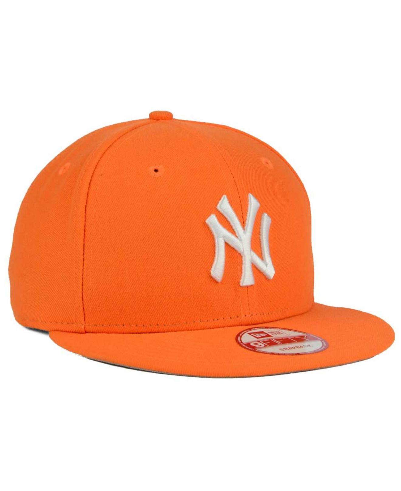 lowest price a8185 6c94b 010ff e3860  usa lyst ktz new york yankees c dub 9fifty snapback cap in  orange for men af1e0