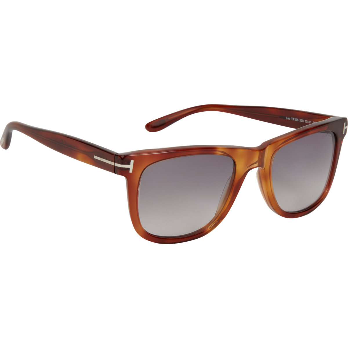 tom ford leo sunglasses in brown for men lyst. Cars Review. Best American Auto & Cars Review