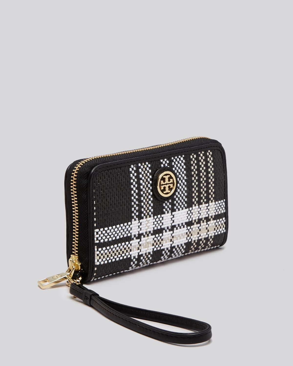 iphone 5 wristlet lyst burch wristlet robinson plaid iphone 5 5s in 11067