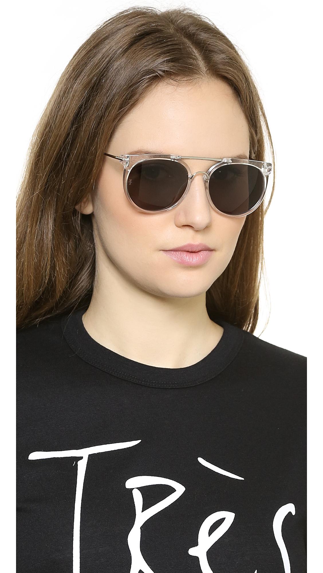 a19f5387ad Lyst - Wonderland Stateline Sunglasses
