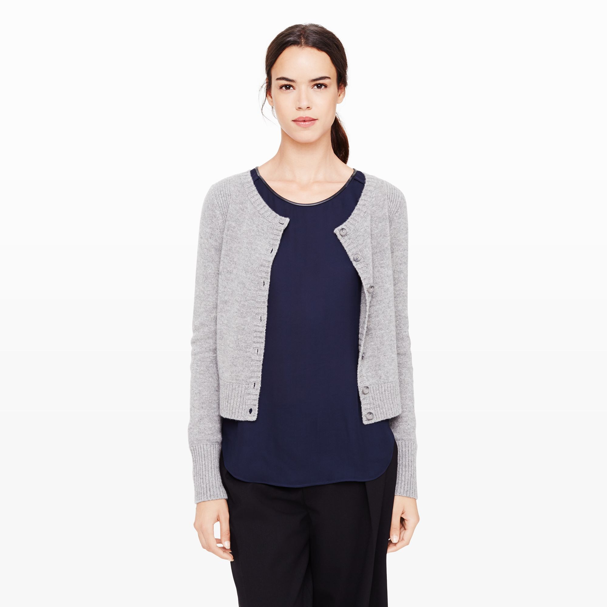 100  [ Ladies Cashmere Sweaters ] | Vince Vee Layout Cashmere ...