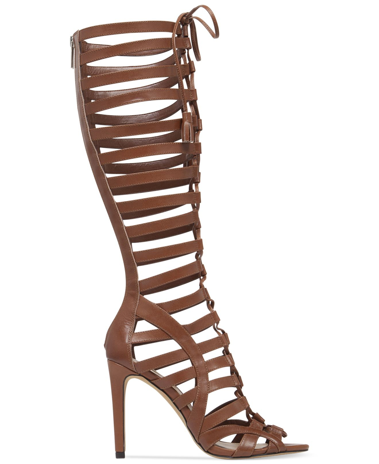 Vince Camuto Olivian Tall Lace Up Gladiator Sandals In