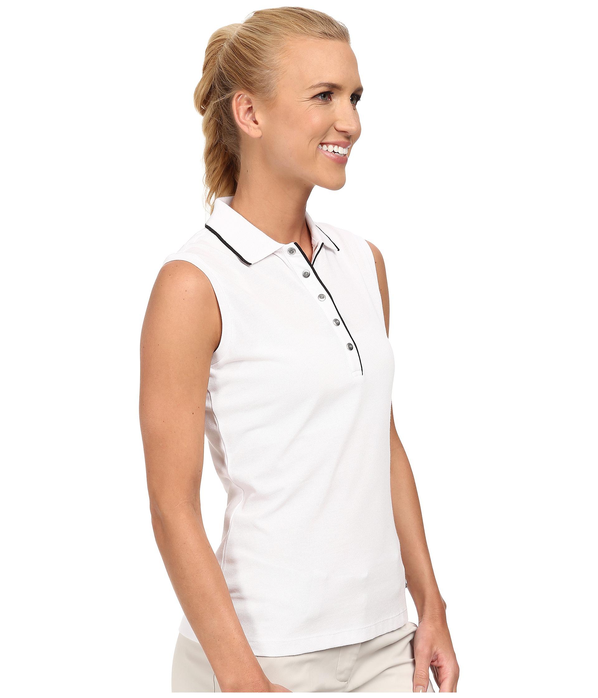 Sleeveless Collared Polo Shirts Bcd Tofu House