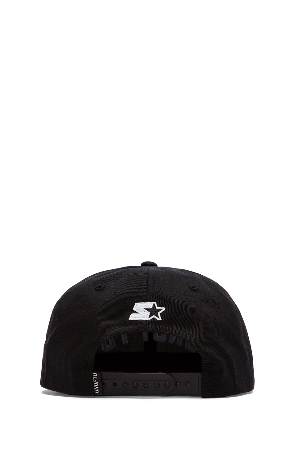 Lyst - Undefeated Global Starter Snapback in Black 9eee7f858358