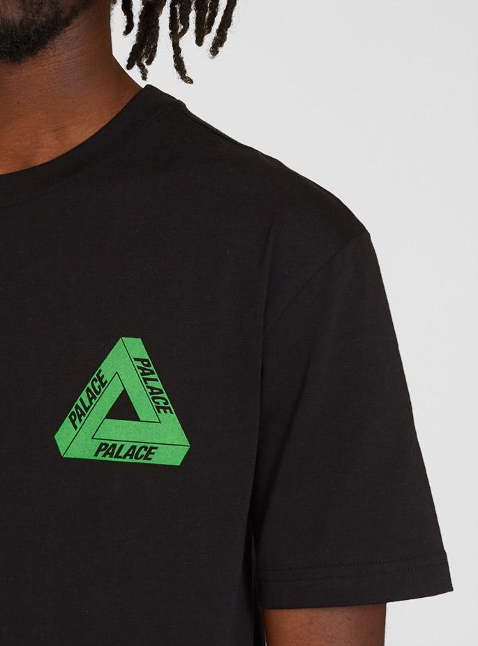 80ec152f Palace Triline Rasta Tshirt in Black for Men - Lyst