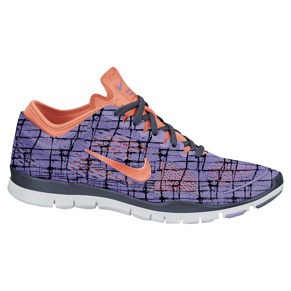 nike womens free 50 tr fit 4 cross trainers in purple lyst. Black Bedroom Furniture Sets. Home Design Ideas