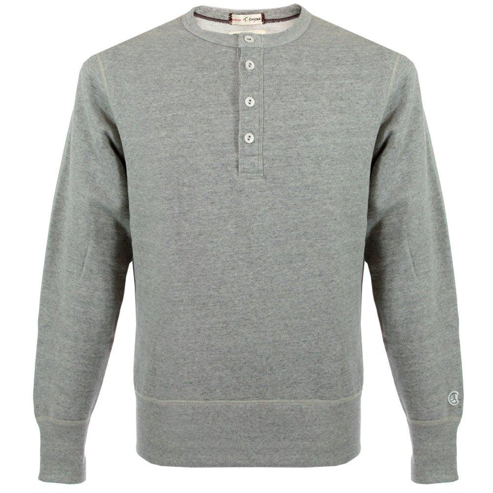 Lyst Champion Champion Henley Sweatshirt Grey Heather