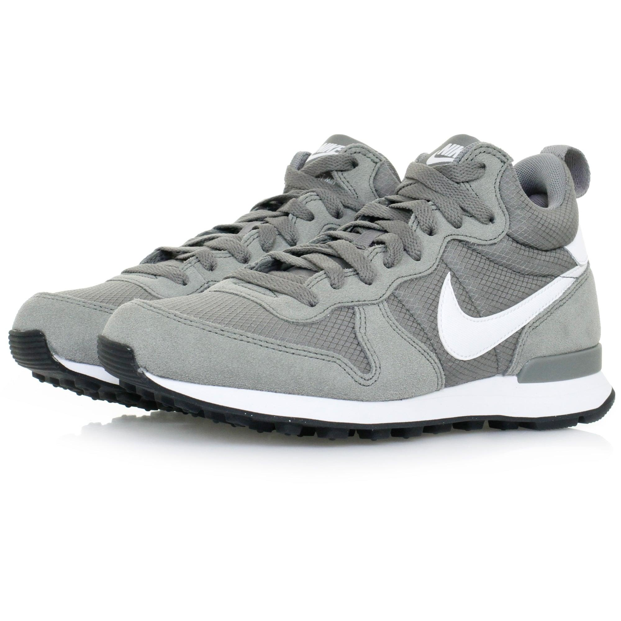 info for ba4a7 3befe Lyst - Nike Internationalist Mid Leather Tumbled Grey Shoe in Gray ...