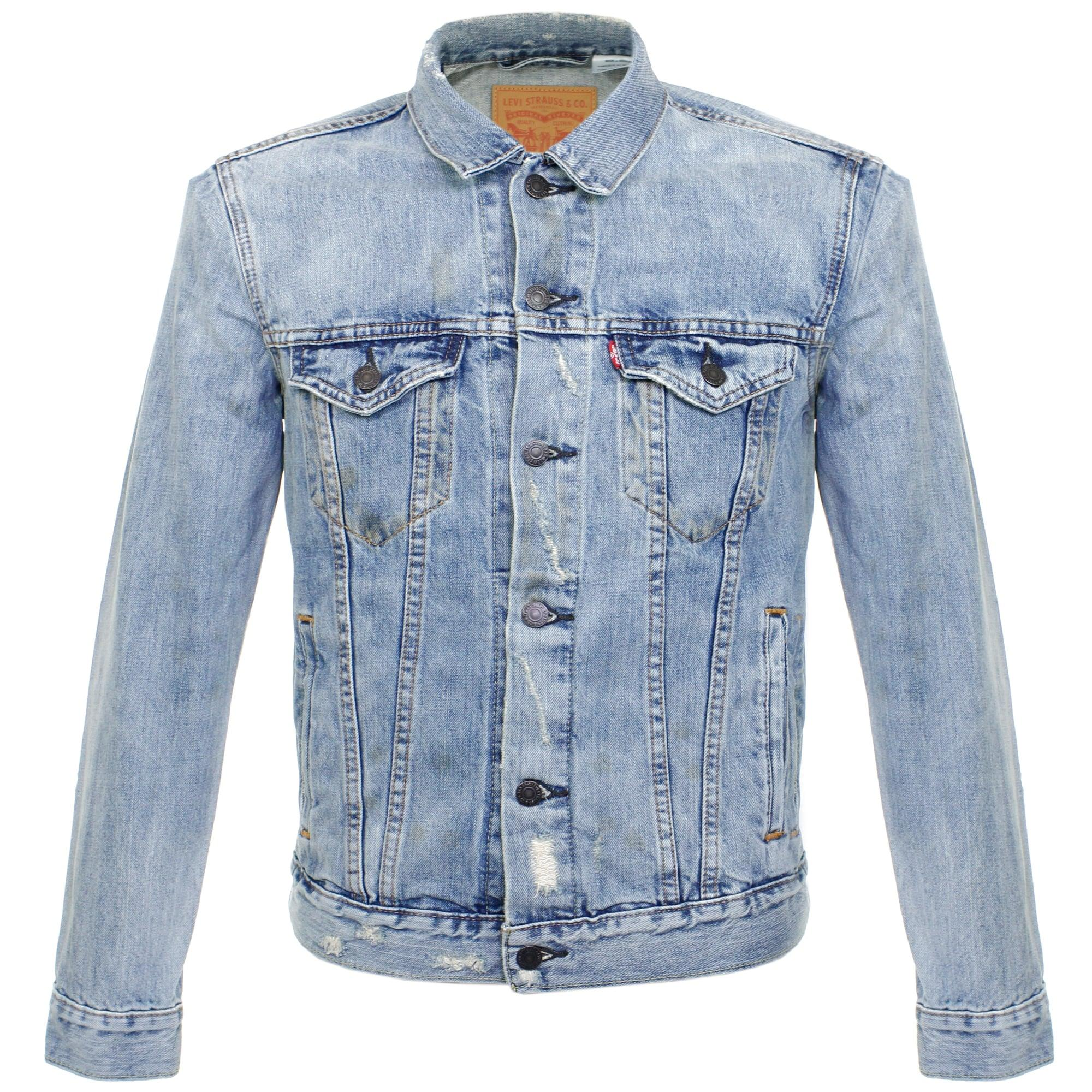 Levi S Levi S Trucker Chad Denim Jacket 72334 In Blue For