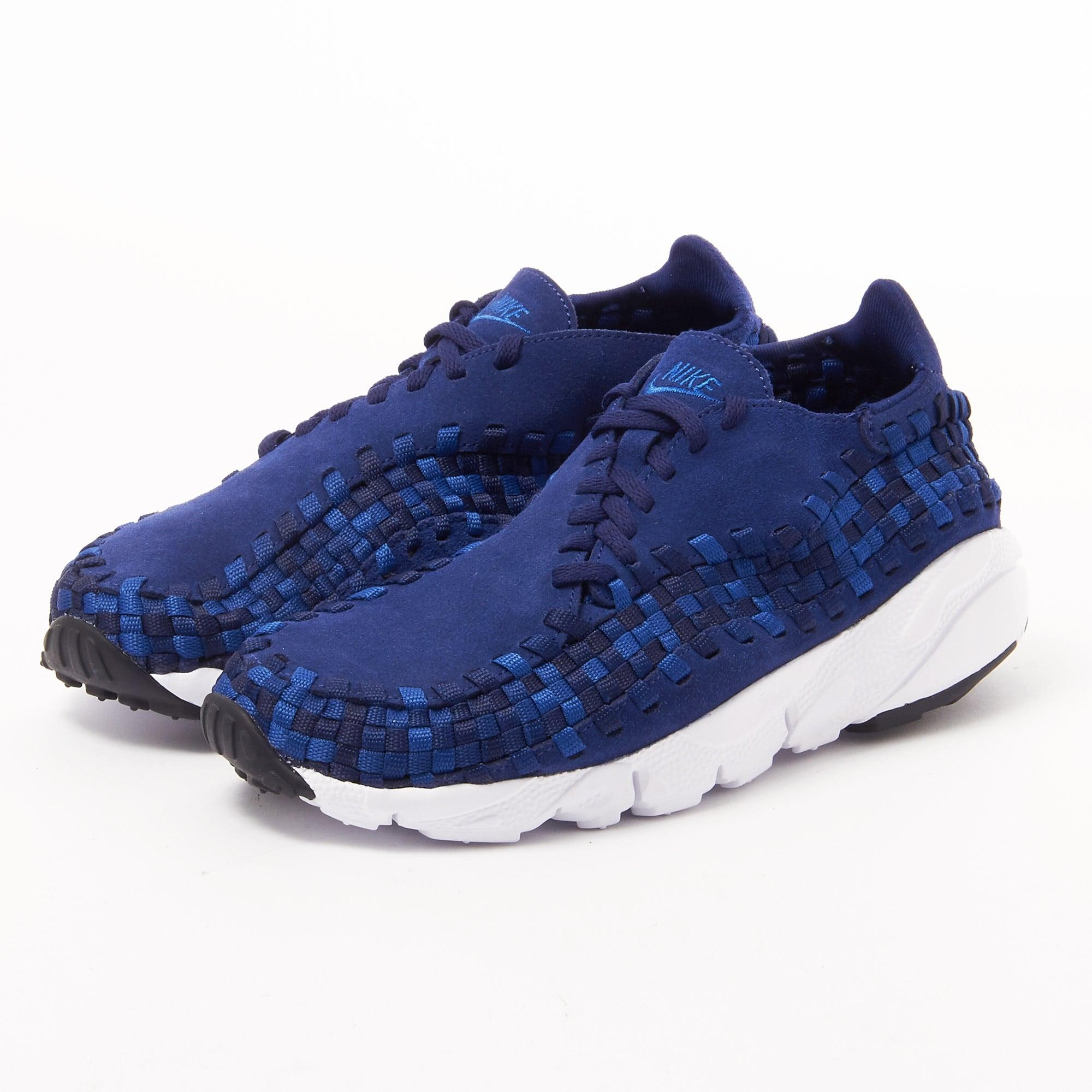 lyst nike air footscape woven binary blue 875797 400 in blue. Black Bedroom Furniture Sets. Home Design Ideas