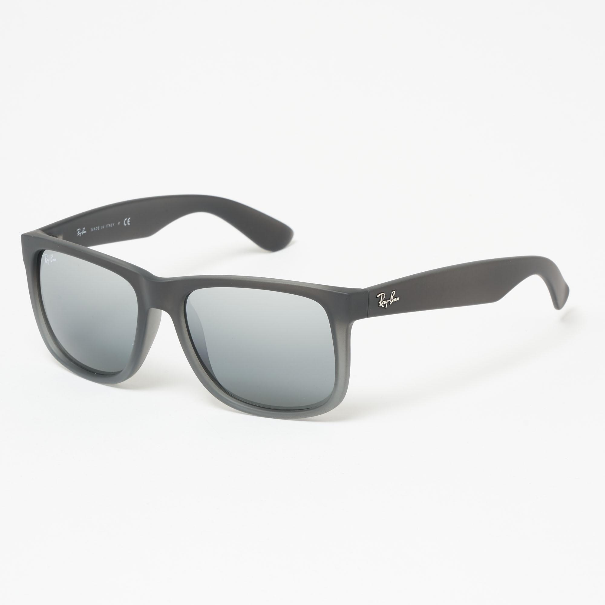 9d76632c64 Lyst - Ray-Ban Justin Smoke Grey Sunglasses 0Rb4165-852 88 for Men
