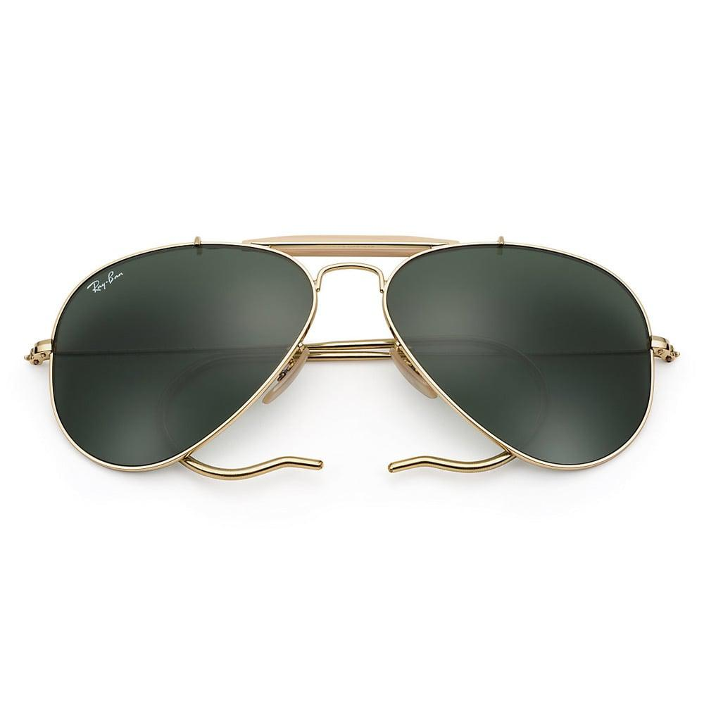 1350426530 Lyst - Ray-Ban Ray-Ban Outdoorsman Gold Sunglasses Rb3030 L0216 in ...