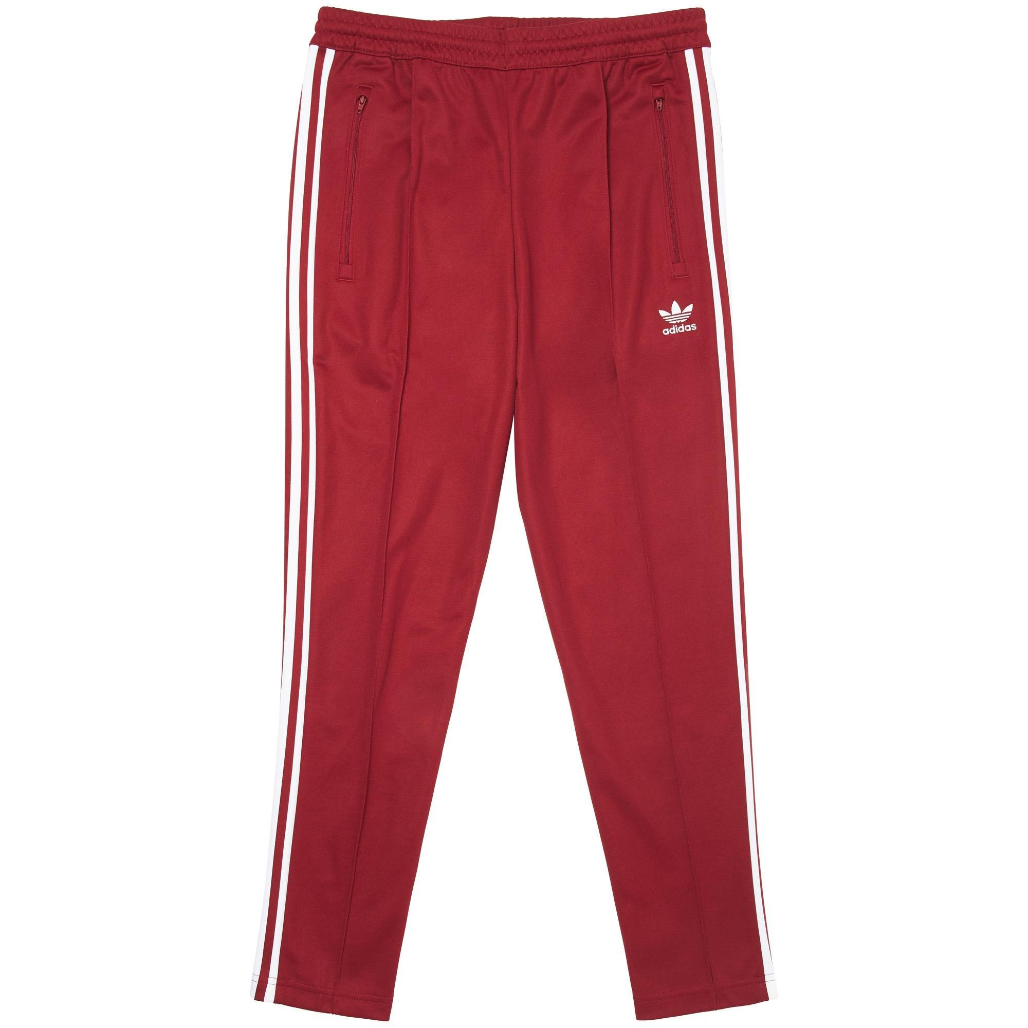 Lyst Adidas Originali Beckenbauer Traccia Pantaloni In Rosso Uomini Per Salvare Il 16% Uomini Rosso 145355