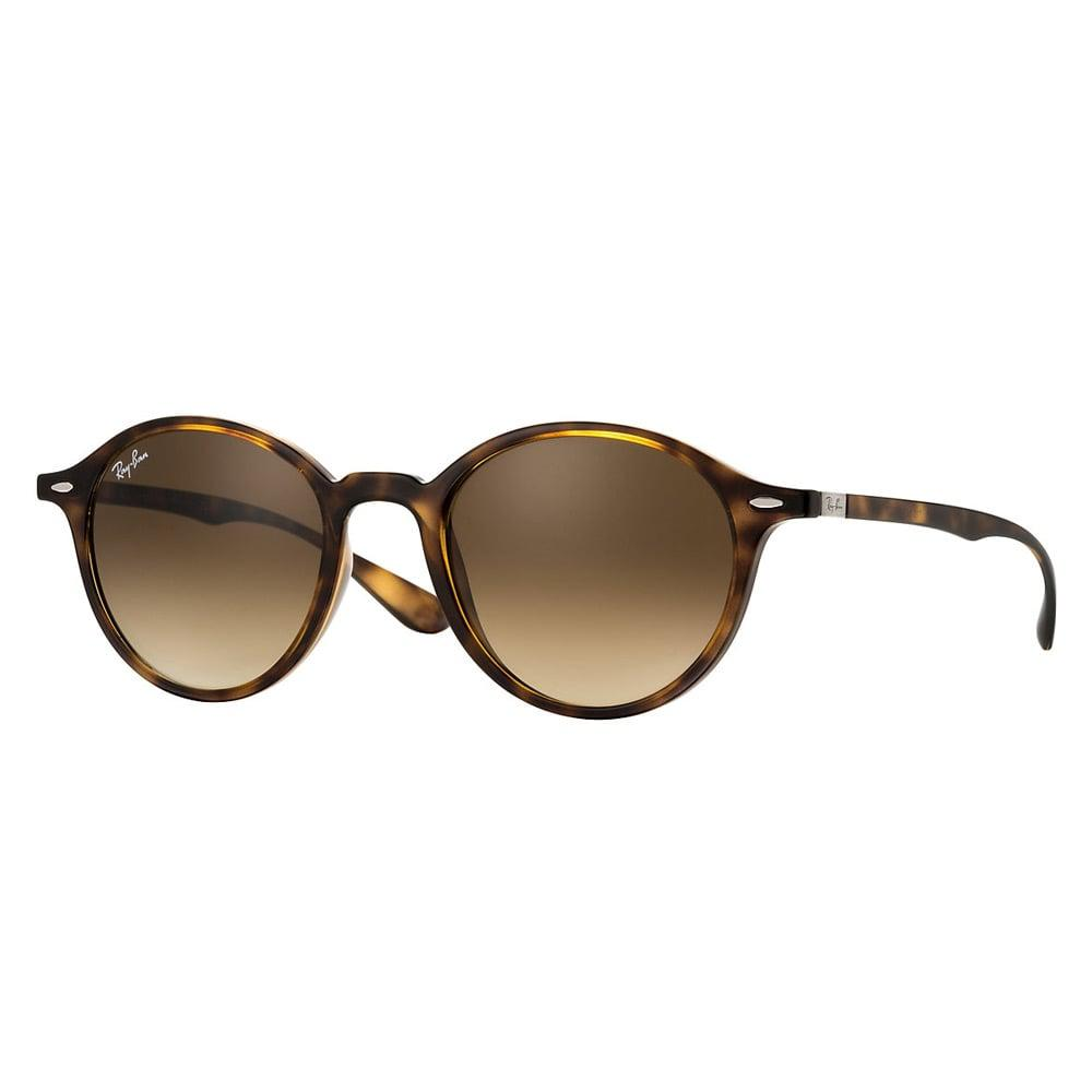 44dce75bc5 Lyst - Ray-Ban Round Liteforce Sunglasses - Brown Gradient Lenses in ...
