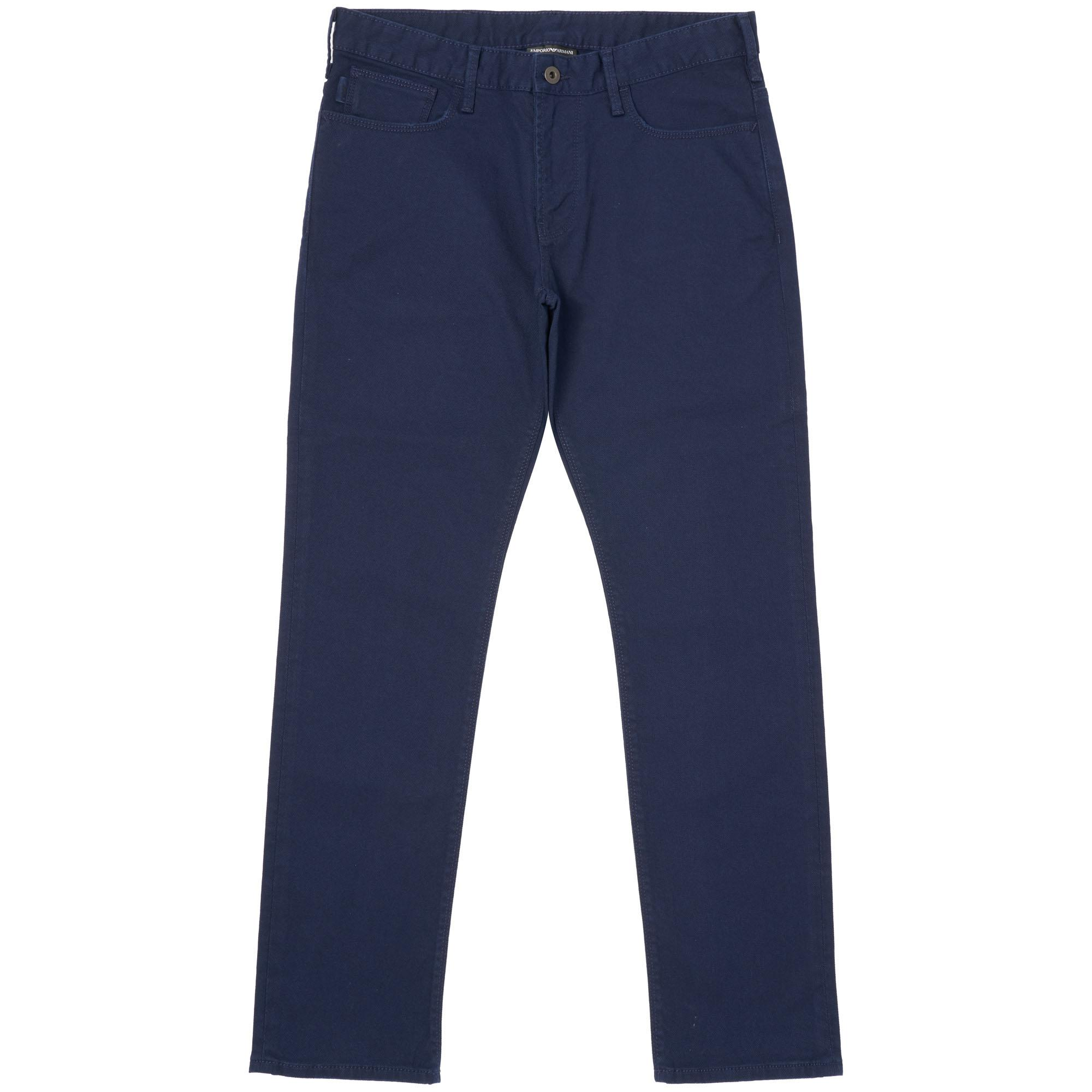c6da5e3d8539 Emporio Armani - Blue J06 Slim Fit Stretch Cotton Jeans for Men - Lyst.  View fullscreen
