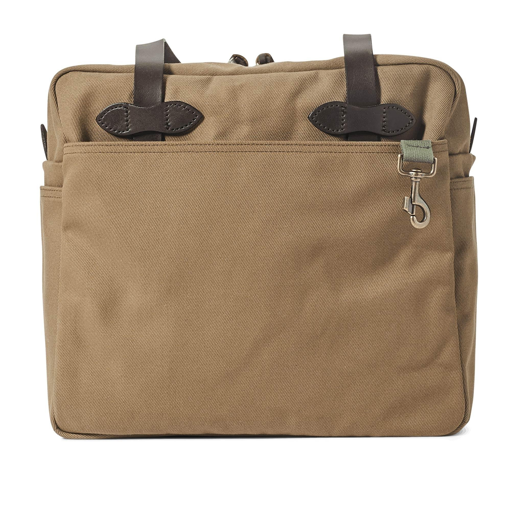 51e52385e06 Lyst - Filson Rugged Twill Tote Bag With Zipper - Save 8%