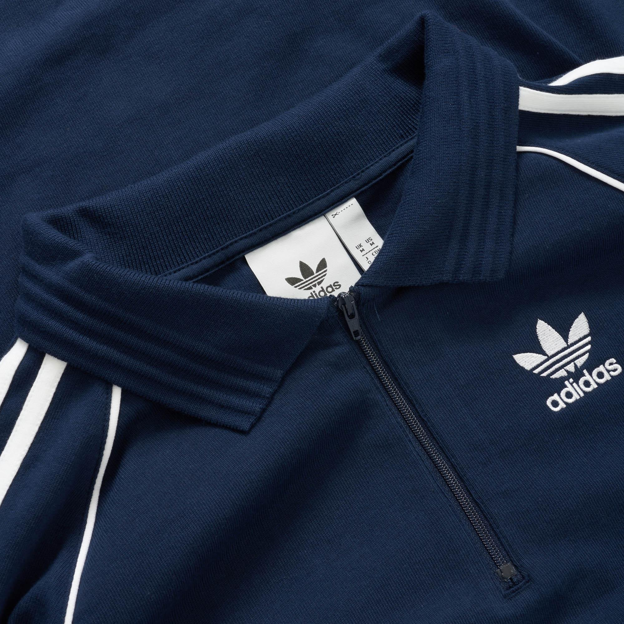 03aec032996 adidas Originals Authentic Rugby Jersey in Blue for Men - Lyst