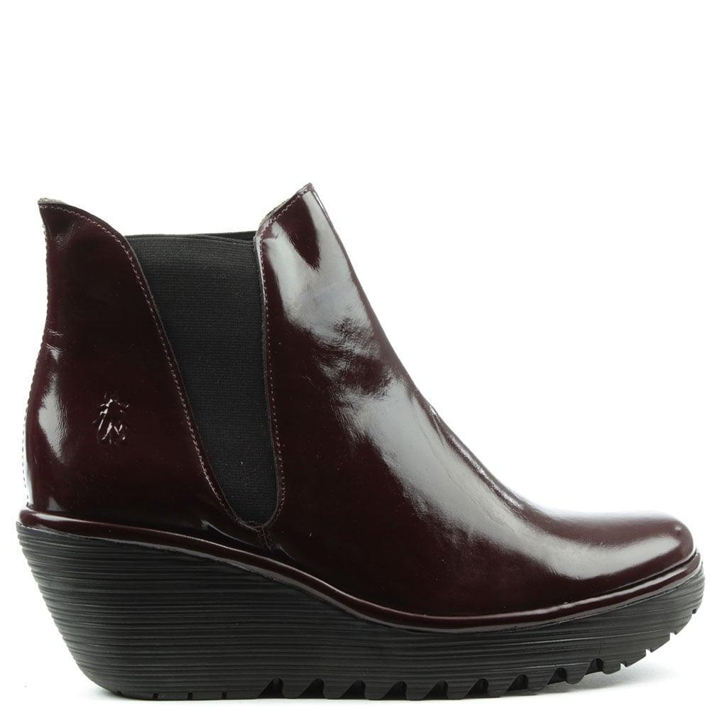 Burgundy Mid Heel Shoes Uk