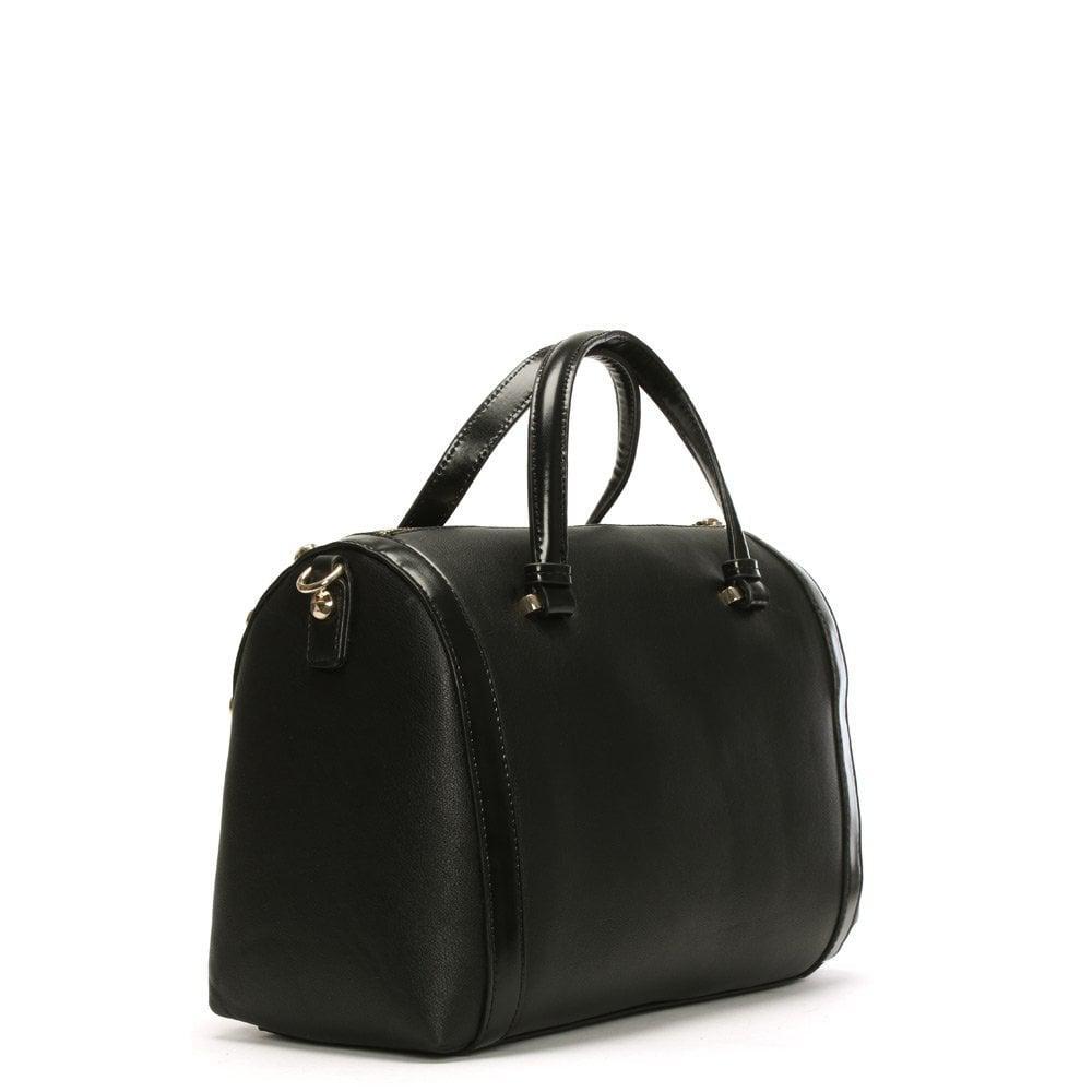 78b48fdbc52 ... Versace Jeans - Raft Black Textured Bowling Bag - Lyst. View fullscreen  release date  ...