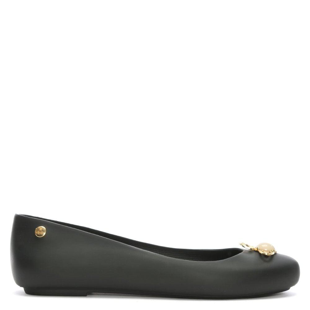 Melissa VIVIENNE WESTWOOD SPACE LOVE - Ballet pumps - black