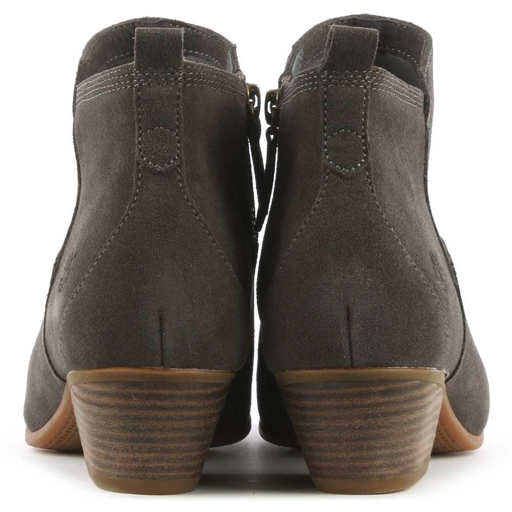 3235f002ca9 Timberland Carleton Grey Suede Ankle Boot in Gray - Lyst