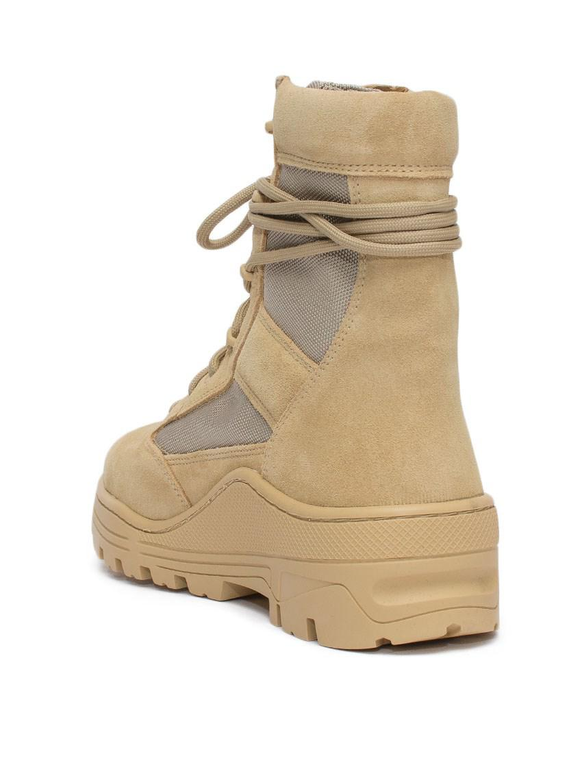 1340c5de8 Lyst - Yeezy Military Boots- Season 4 in Natural for Men