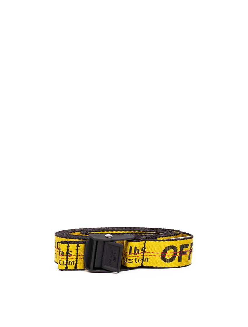 c2c4a3789ce4 Off-White C O Virgil Abloh Nylon Industrial Belt in Yellow - Lyst