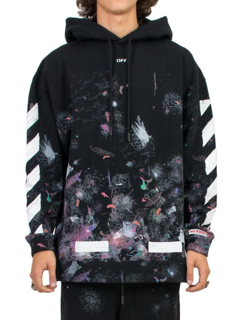 Off-White c o Virgil Abloh  galaxy  Hoodie in Black for Men - Lyst 0f2f5628d19d