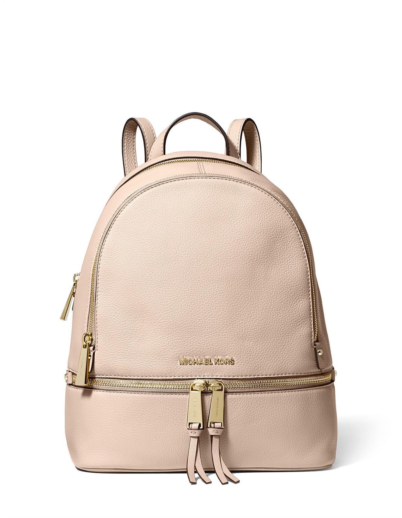 4e841ab714e8 Michael Kors - Pink Rhea Medium Backpack - Lyst. View fullscreen