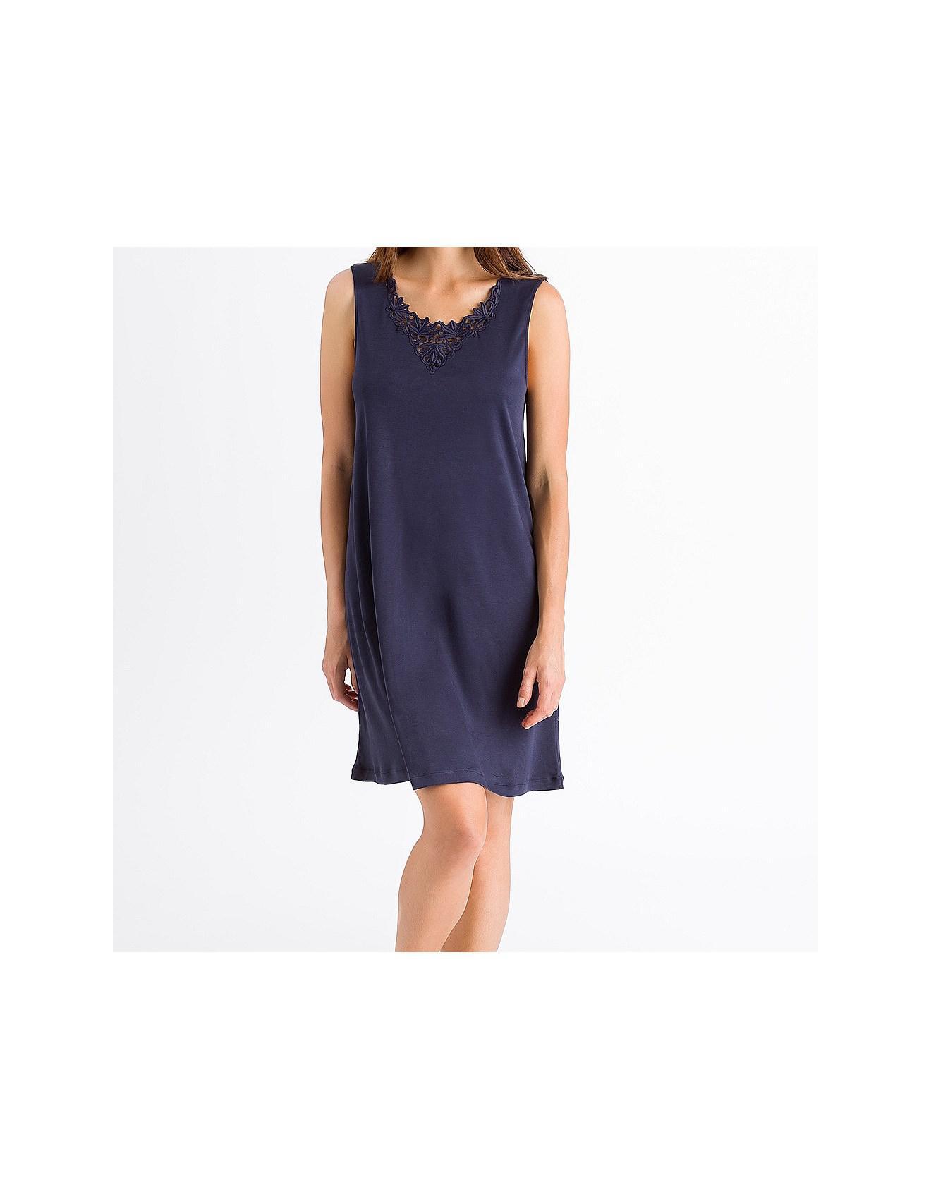 fdca5523ed Hanro Jasmin Sleeveless Nightie in Blue - Lyst