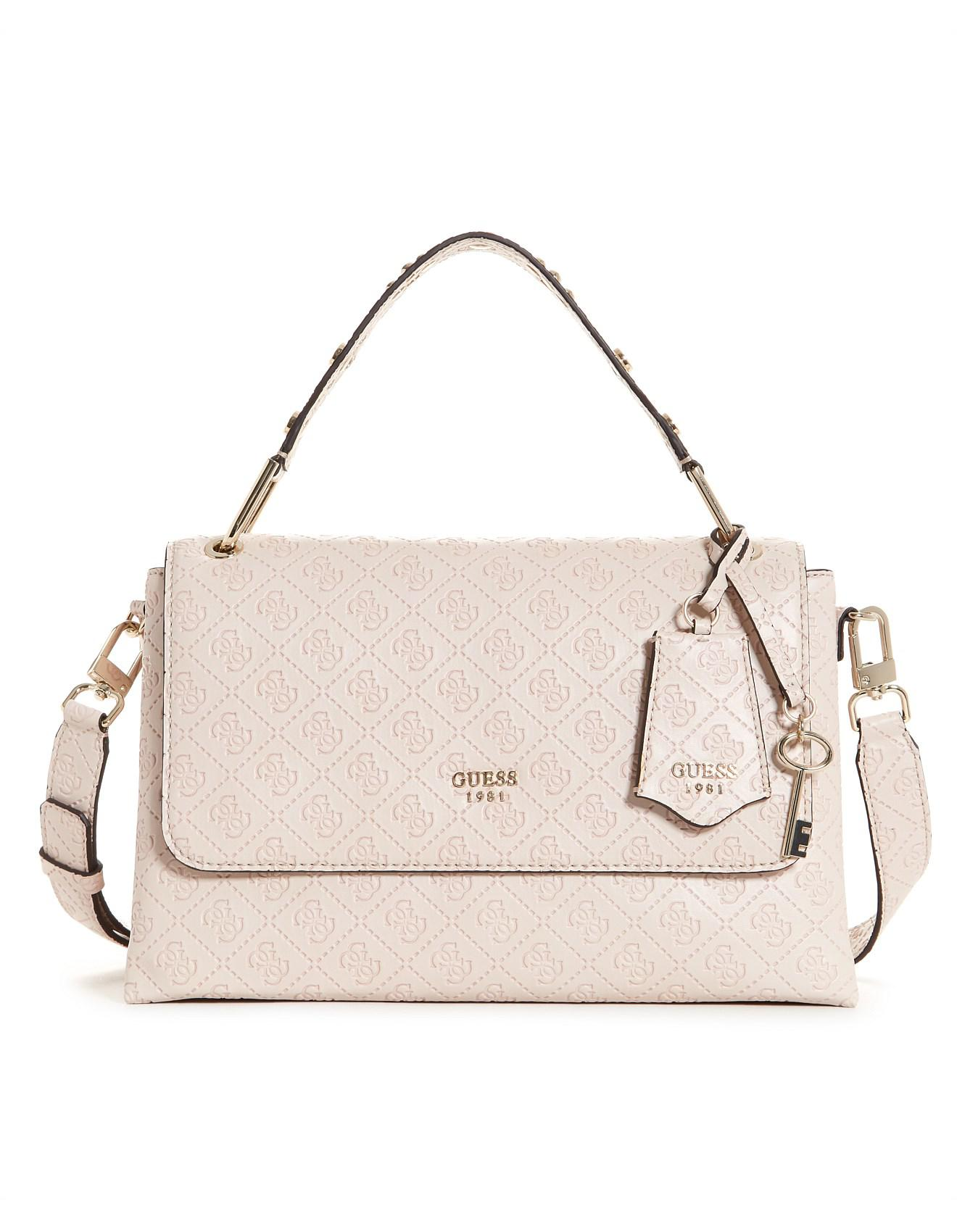 53d846b7313 Guess - Natural Coast To Coast Top Handle Bag - Lyst. View fullscreen