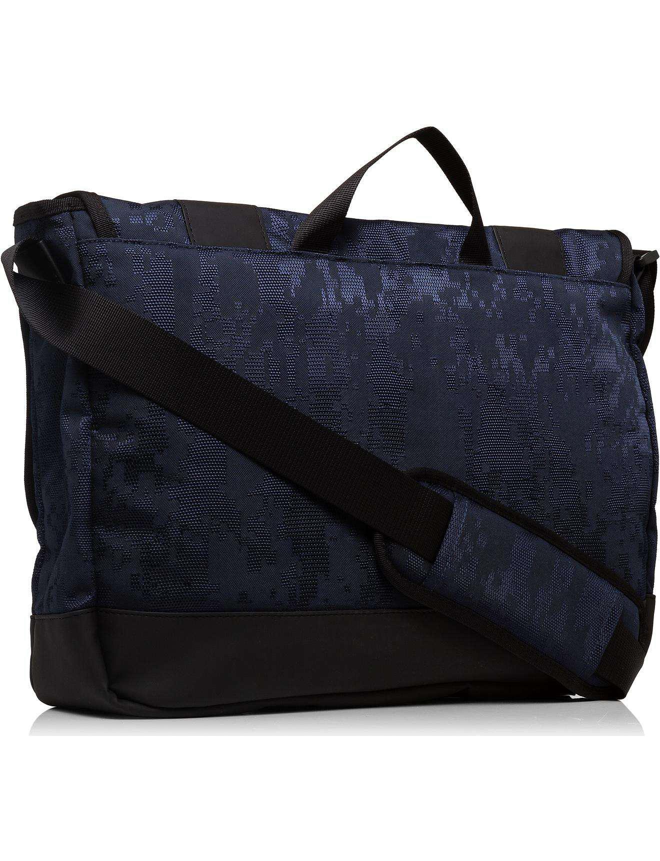Armani Jeans Digital Camo Printed Nylon E w Messenger in Blue for ... 8fea300756c76