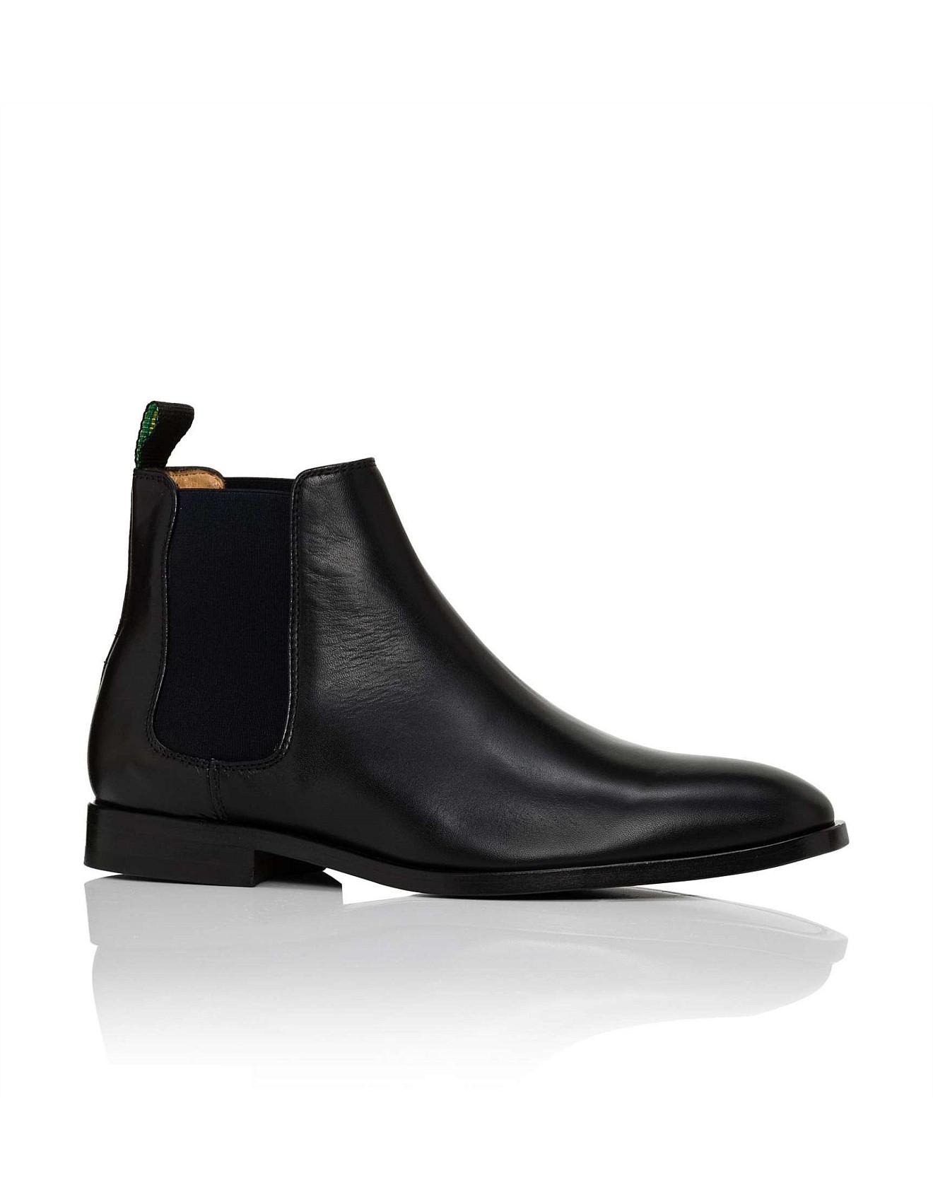 5e369a507f3 PS by Paul Smith Gerald Calf Leather Chelsea Boot in Black for Men ...