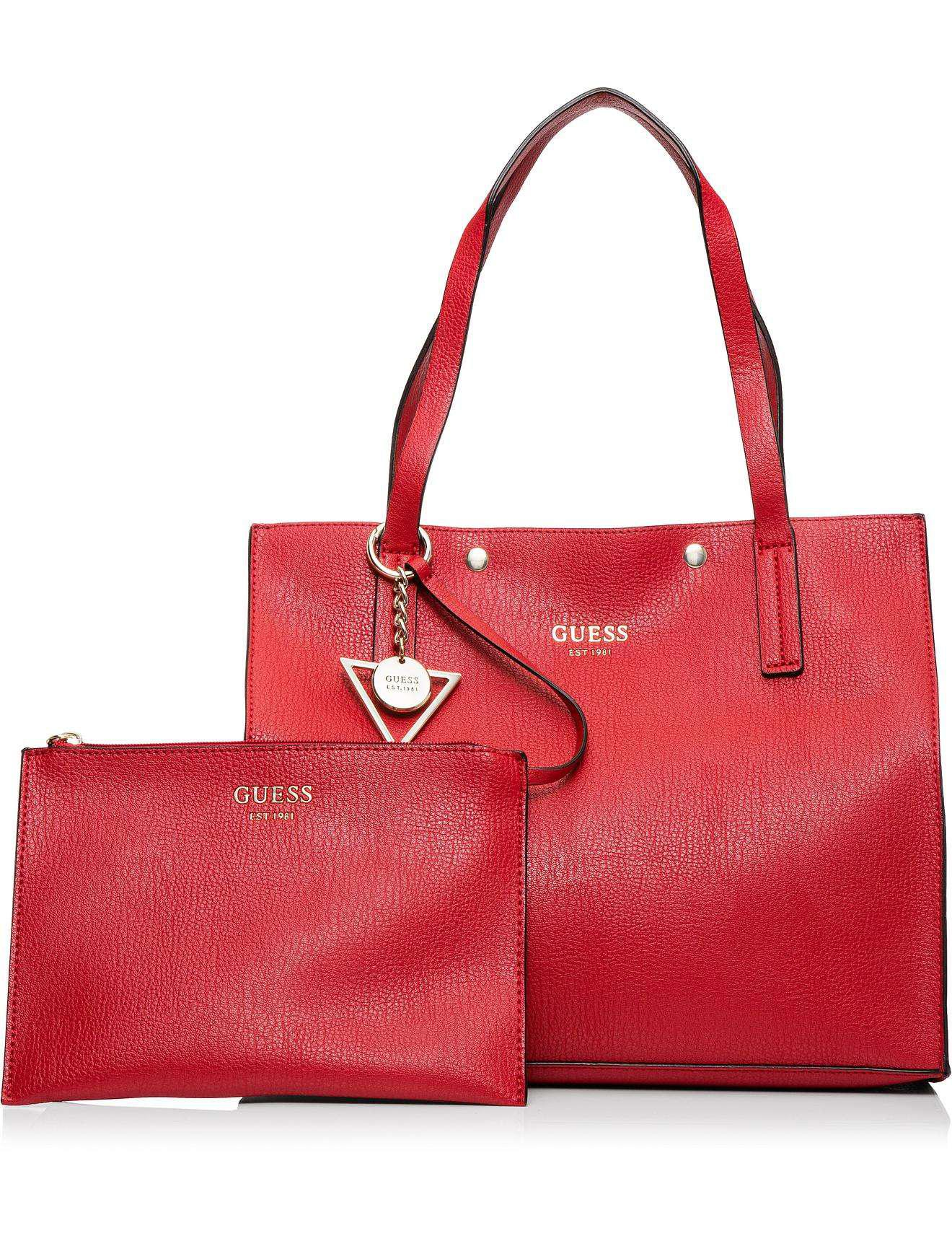 824546f528d Guess Kinley Carry All in Red - Lyst