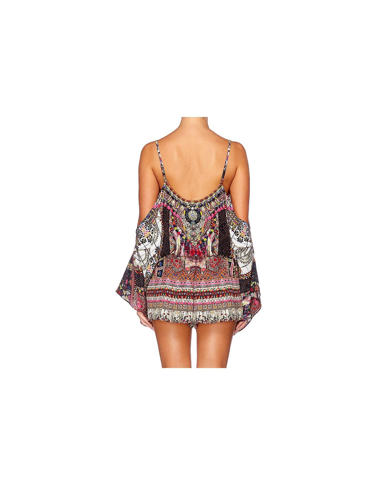d836e957ab7 Camilla Drop Shoulder Playsuit-tiny Dancer - Lyst