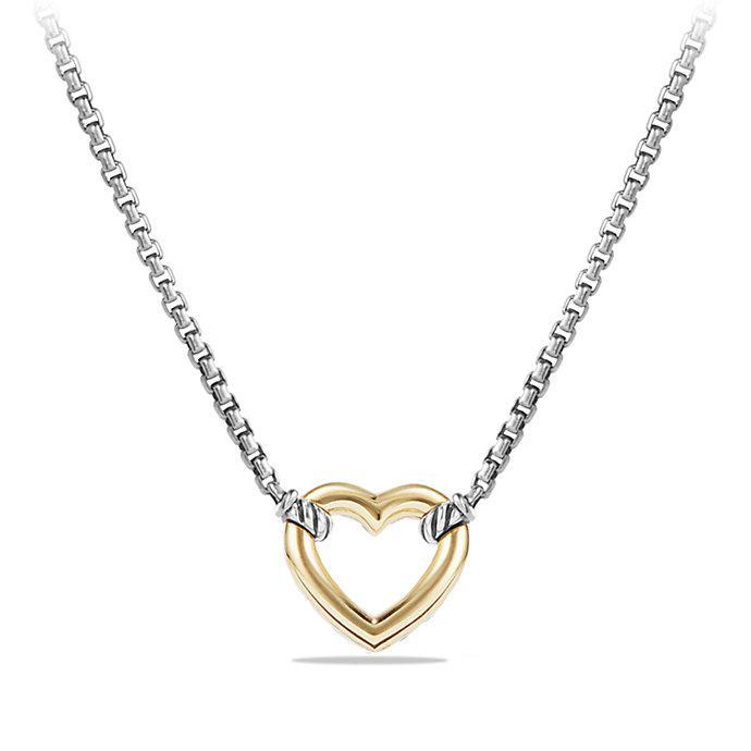 David Yurman 18kt yellow gold Cable Collectibles Quatrefoil diamond pendant necklace - Unavailable HioyF