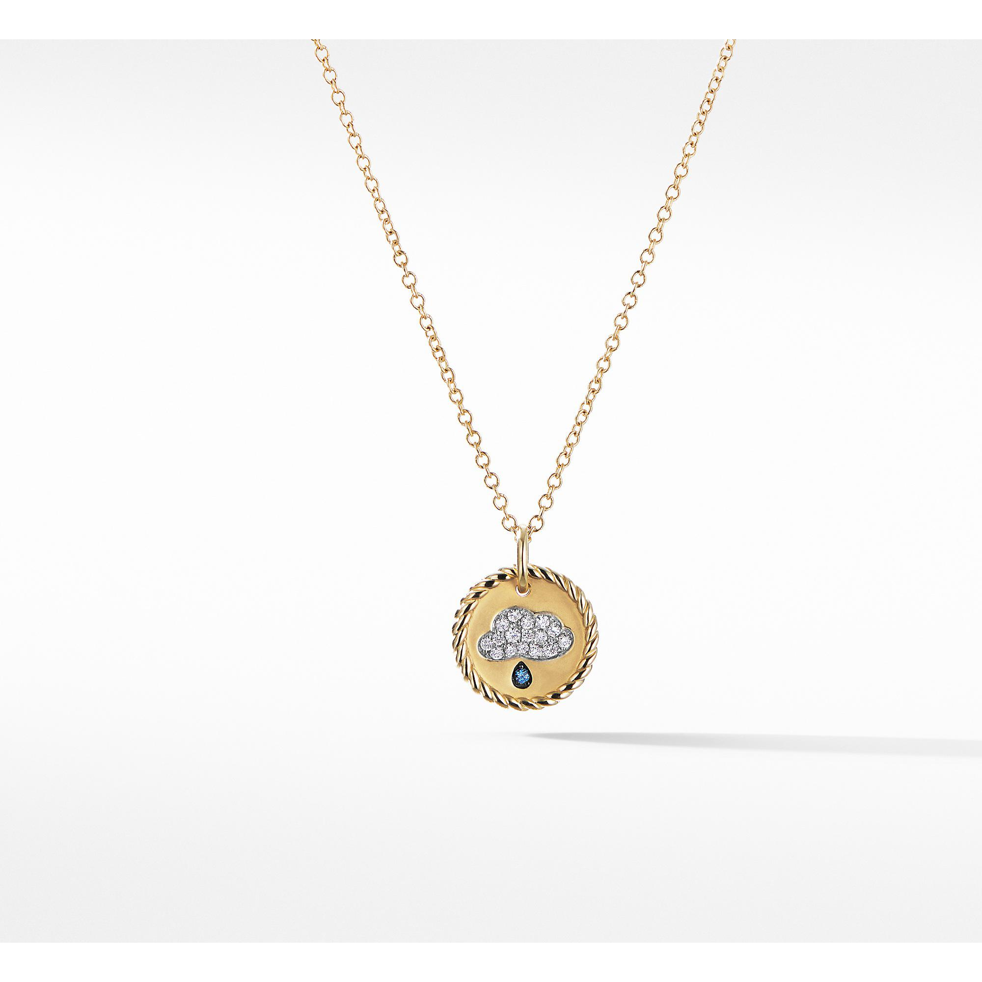Lyst David Yurman Cable Collectibles Raincloud Necklace With