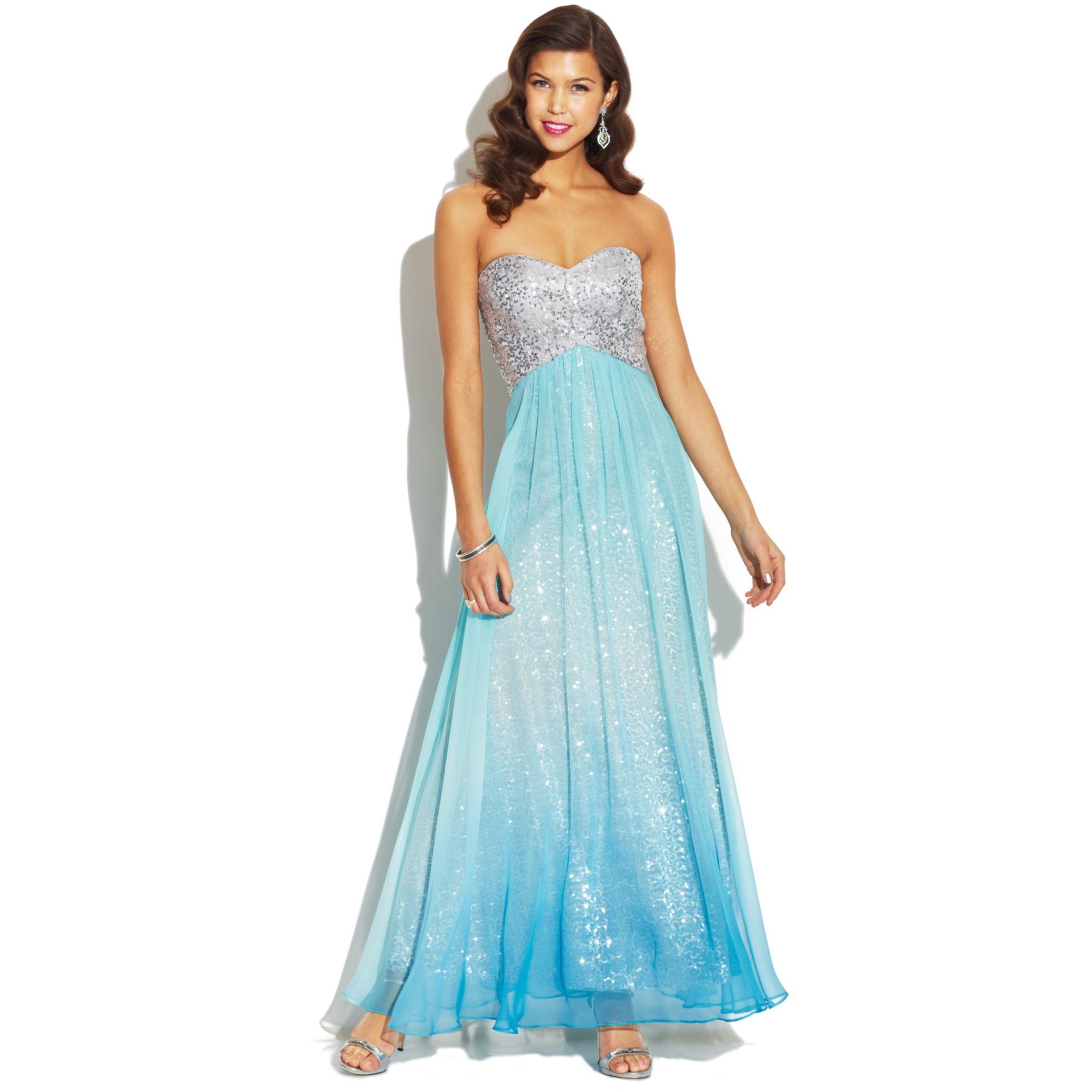 blue issa dress #9