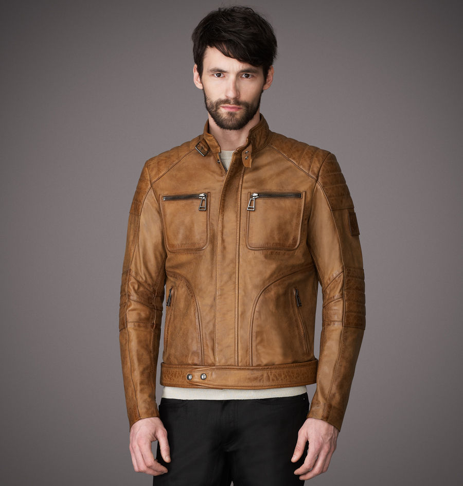 belstaff weybridge jacket in brown signature hand waxed. Black Bedroom Furniture Sets. Home Design Ideas