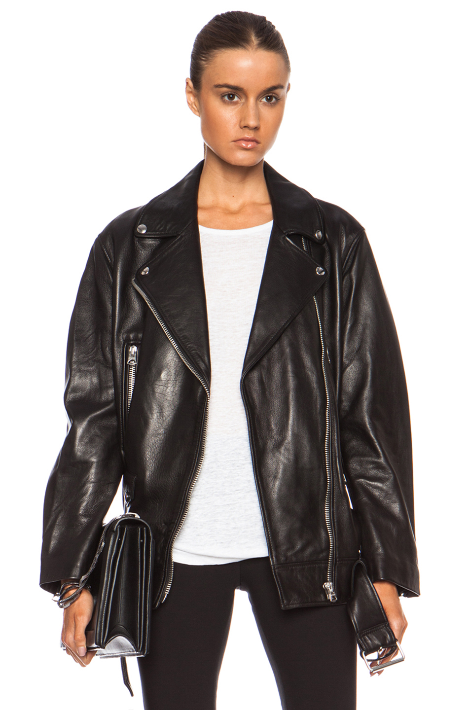 Demi Lovato Acne Studios Leather Jacket | Desert Leather