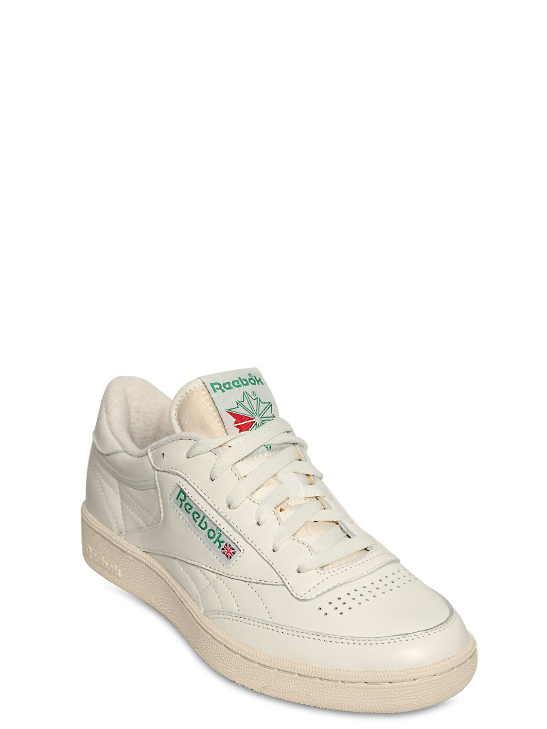 1a58cde14e4aba Reebok Club C 85 Vintage Leather Low-Top Sneakers in White for Men ...