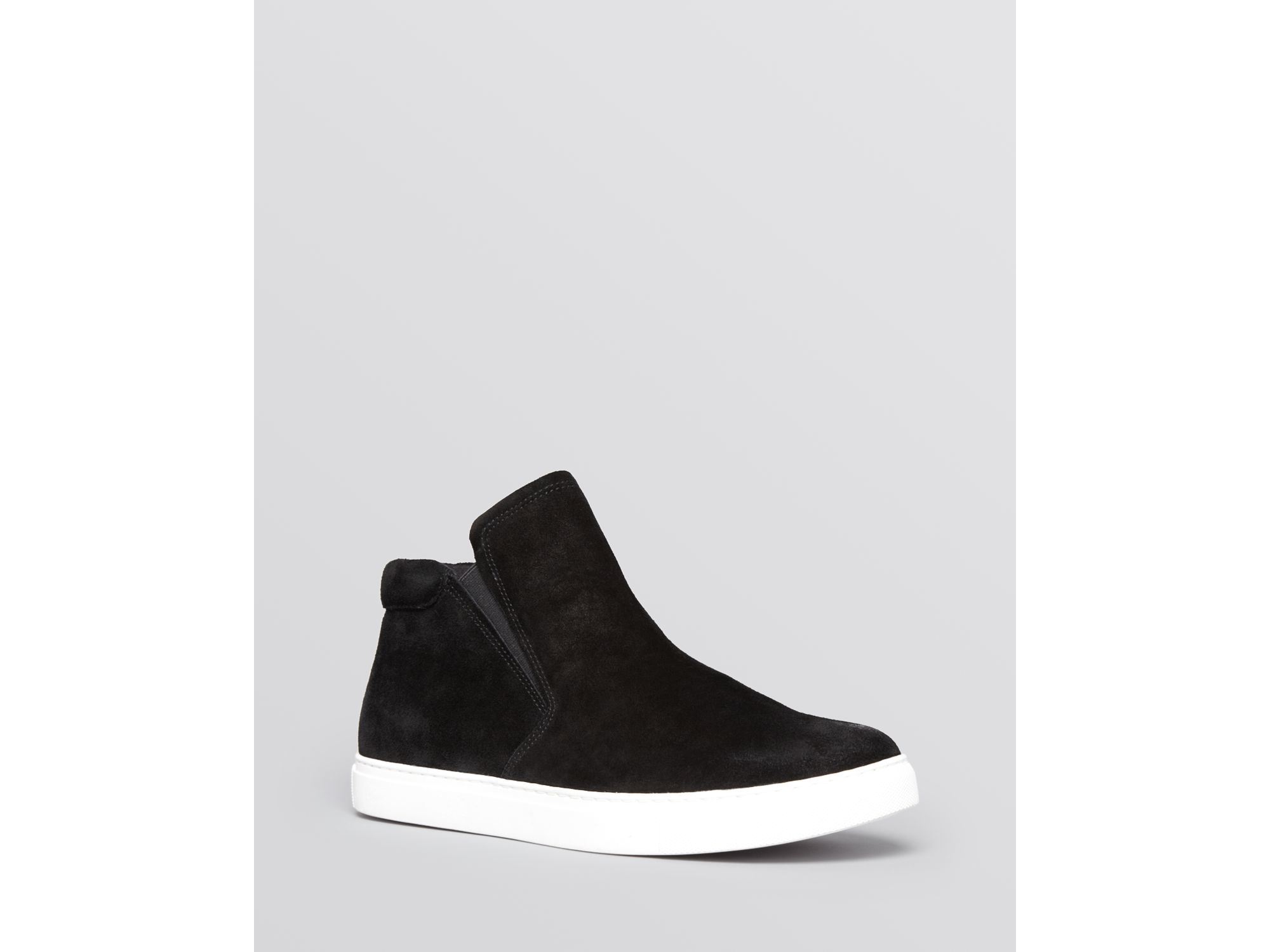 0893e12502f7 Lyst - Kenneth Cole Slip On Sneakers - Kalvin High Top in Black