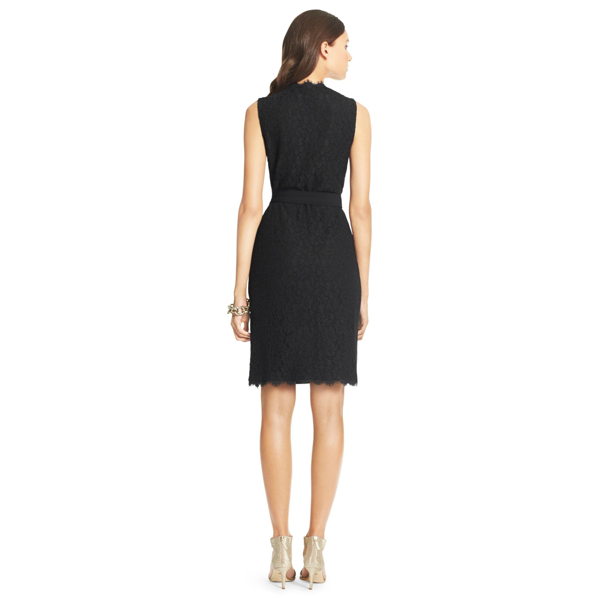 Diane von furstenberg dvf julianna two lace wrap dress in for Diane von furstenberg clothes