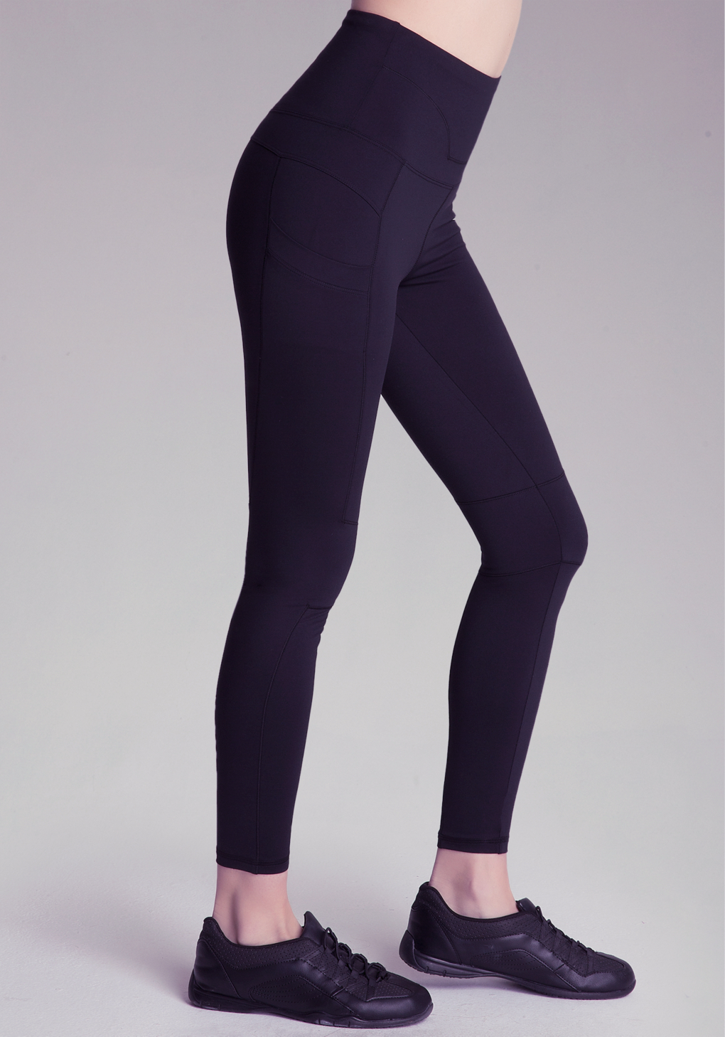 060cbacc549 Bebe High-waist Workout Leggings in Black - Lyst