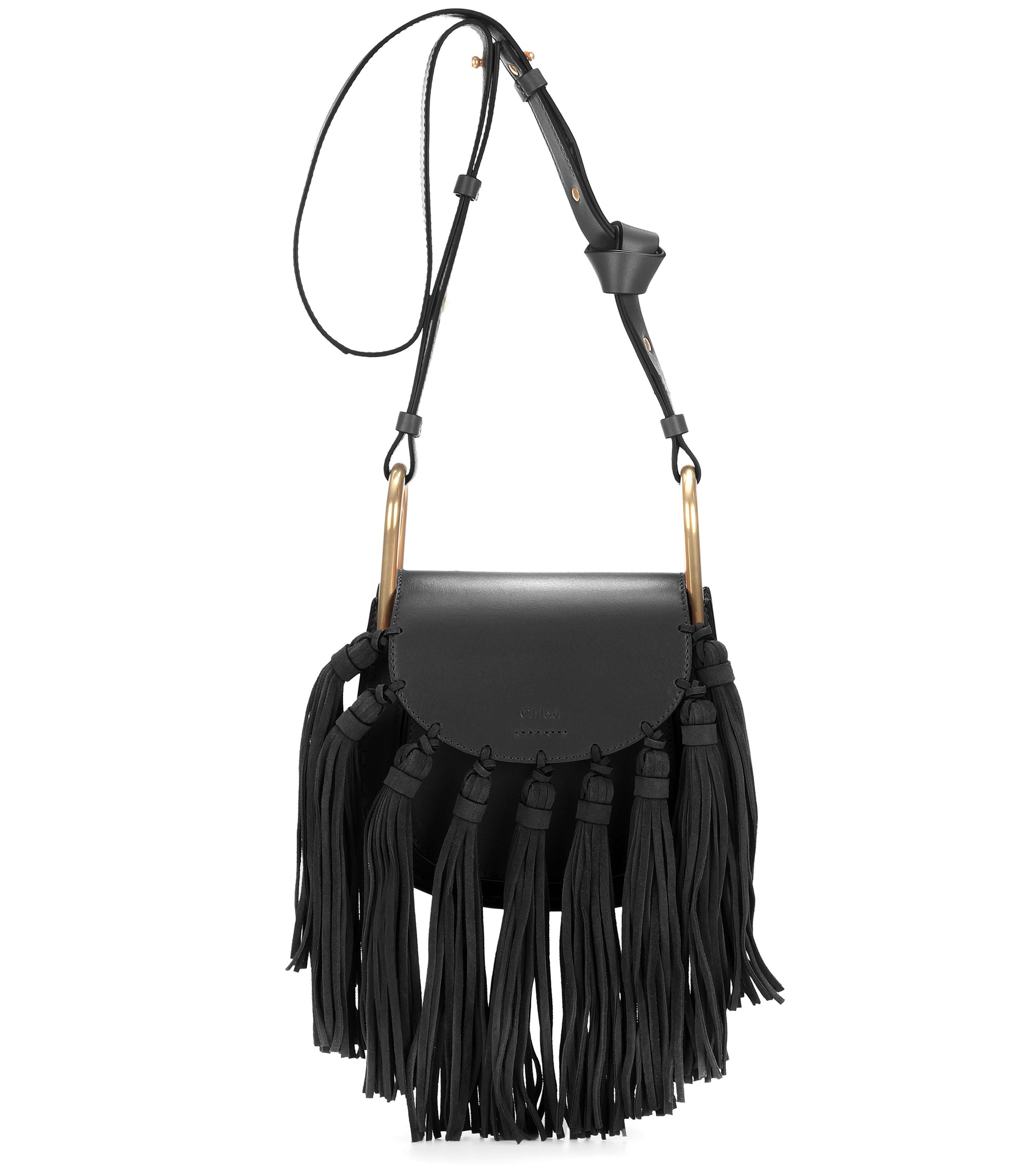 chloe paraty replica - chloe medium hudson tassel leather shoulder bag, chloe knockoff