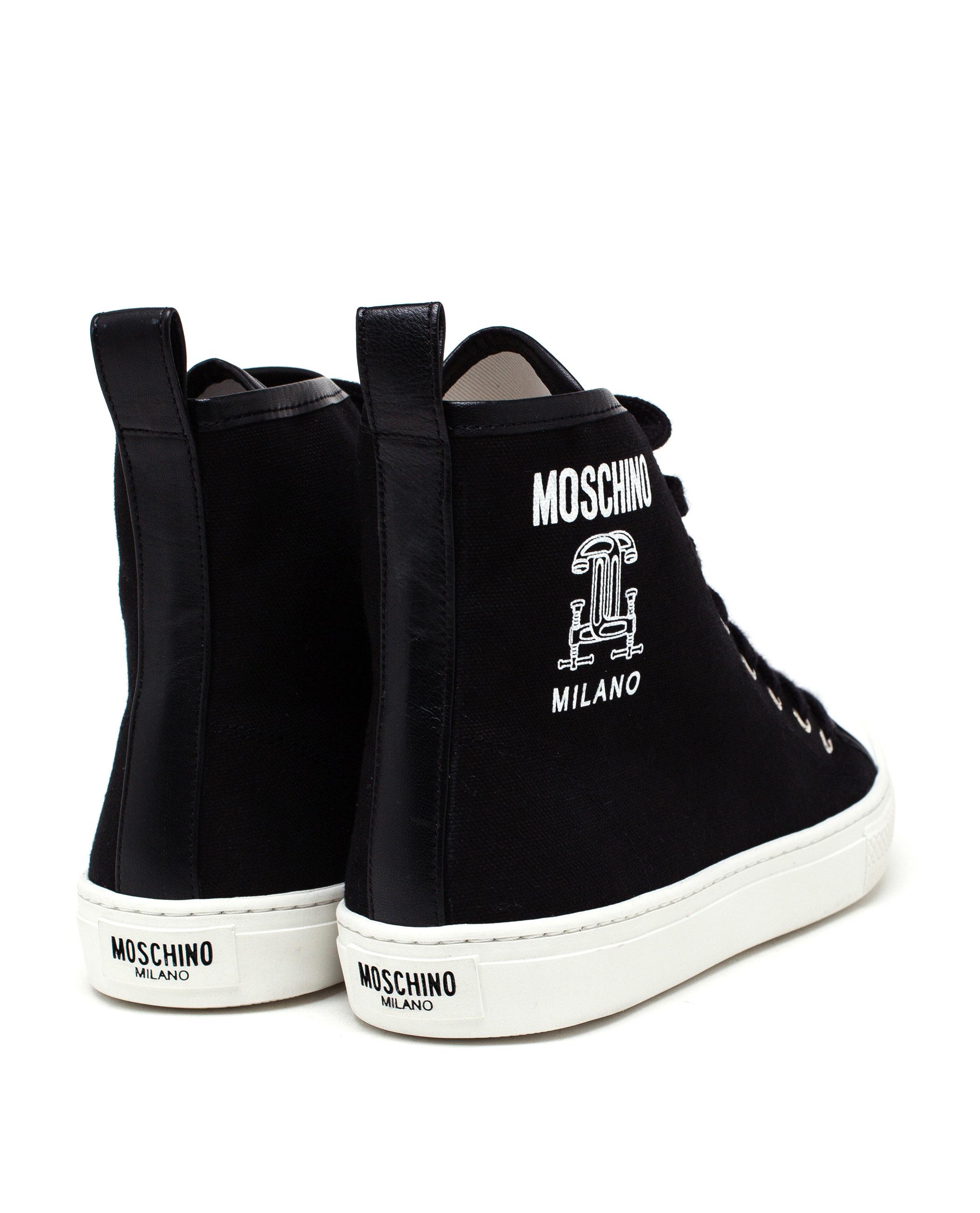 Moschino Canvas Sandals 4JtFc5