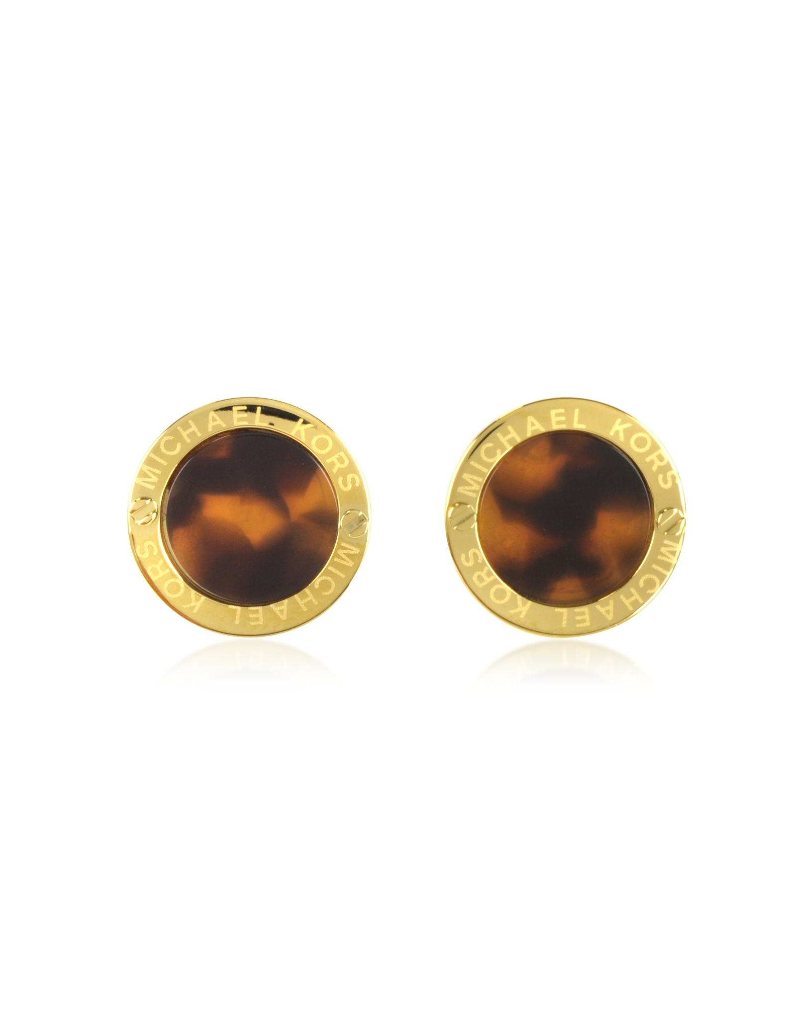 large close earrings loading jacintho brown by acrylic studded operandi moda vanda tortoiseshell tortoise