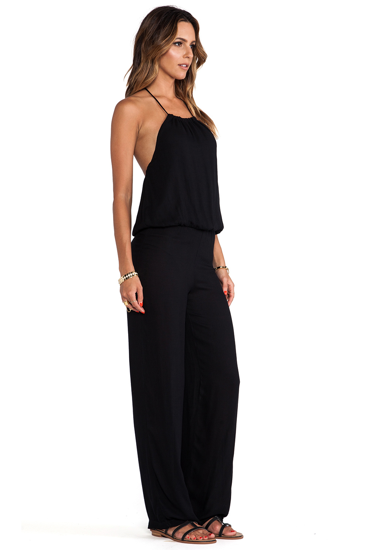 Lyst Young Fabulous Broke Drea Jumpsuit In Black